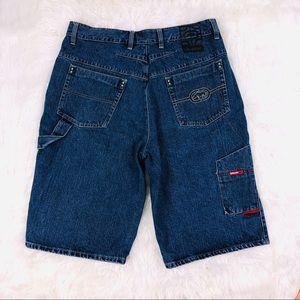 VTG 90's Men's ECKO UNLTD Cargo Jean Denim Shorts